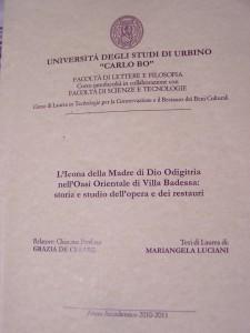 Tesi M.Luciani