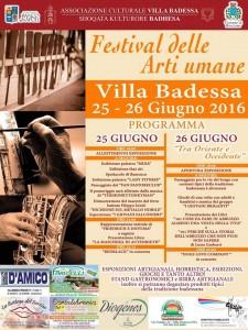 Villa B 25 e 26 giugno 16